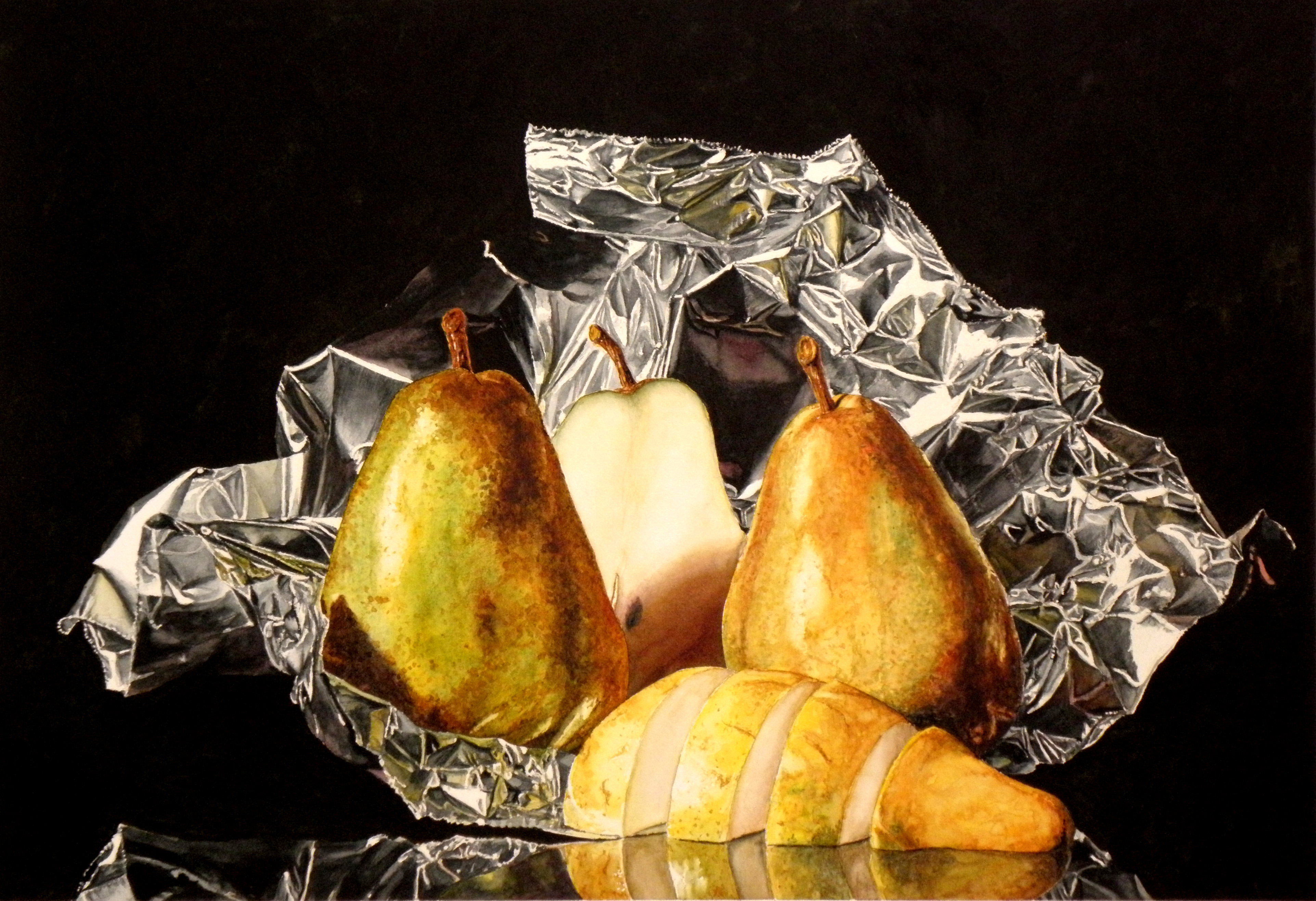 Renew watercolor artist magazine -  Pears On